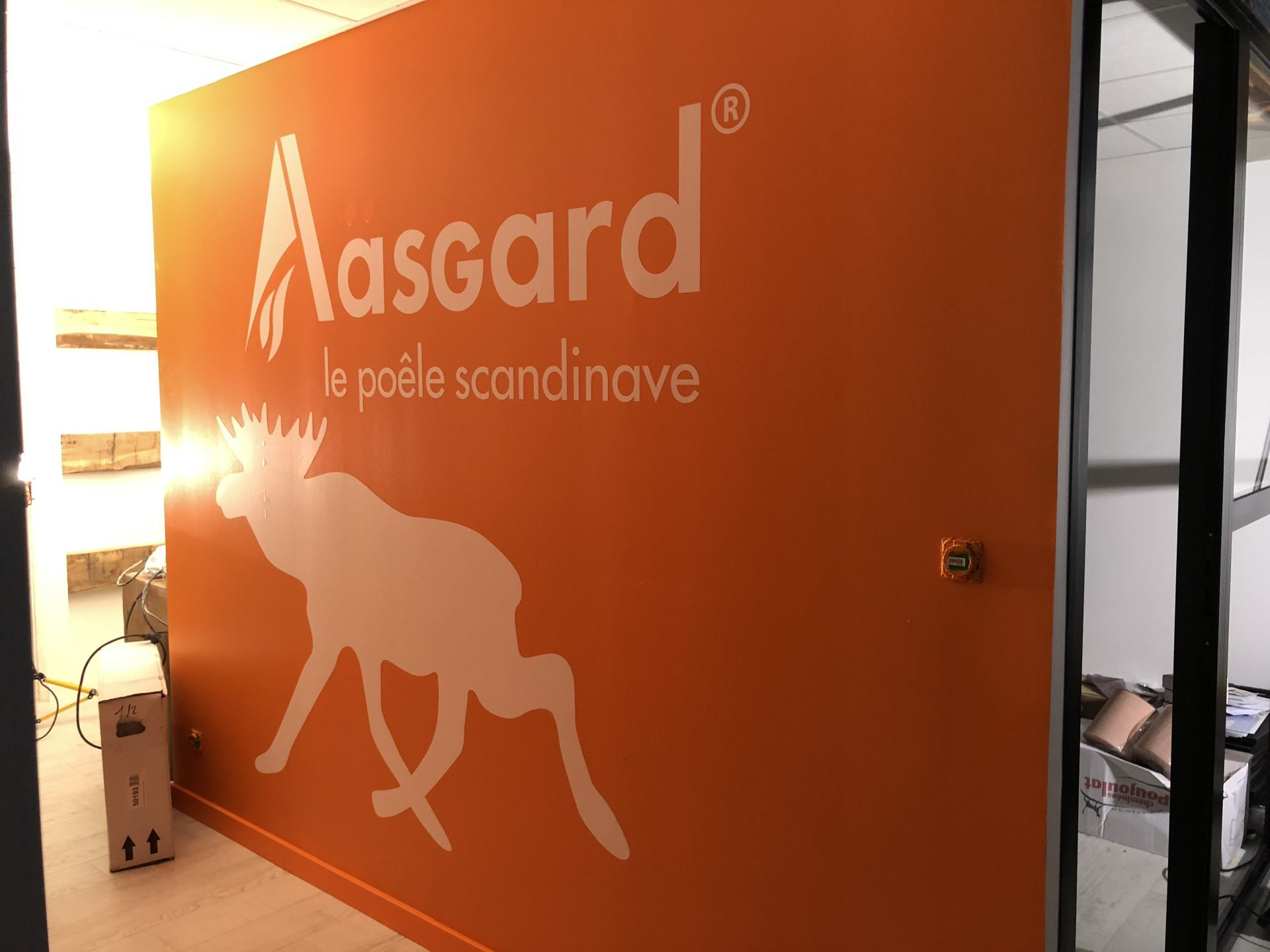 Aasgard Nantes St Herblain ,,Signalétique intérieure